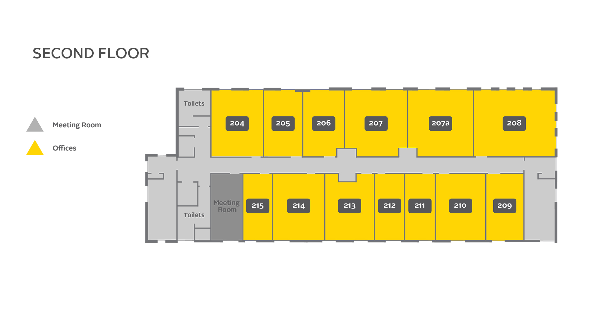 Graphic of arise chelmsford second floor plan