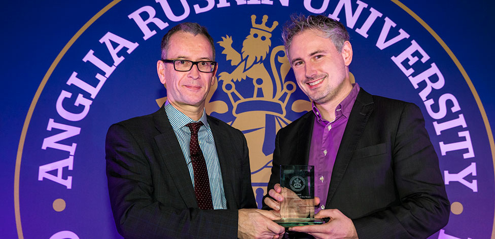 Dr Carsten Mahrenholz received the Alumni Entrepreneur of the Year Award