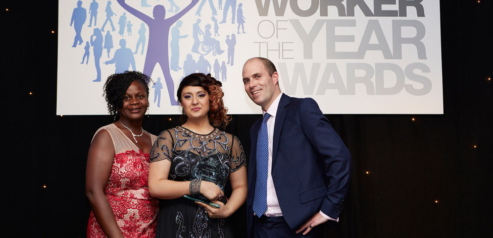 Zahraa Adam Social Work Award 2014