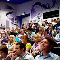 Audience at annual learning and teaching conference in 2011