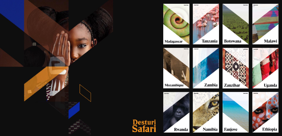 Brand identity for Desturi Safari (Year 2, Design Practice live brief)