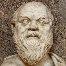 Bust of Socrates