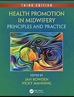 Health promotion in midwifery textbook