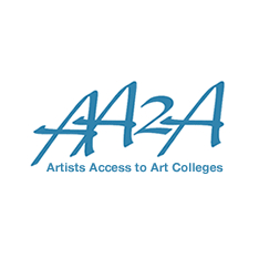 Artists Access to Art Colleges (AA2A) logo