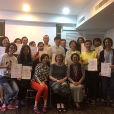 Participants in the workshop facilitated by Helen Odell Miller at the Asian Music Therapy Conference in Taiwan 2016