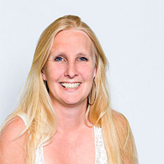 Head shot of Kay Aaronricks (Course leader for Early Childhood Studies at Anglia Ruskin University)