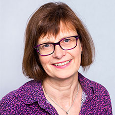 Head shot of Sarah Redsell (Professor of Public Health at Anglia Ruskin University)