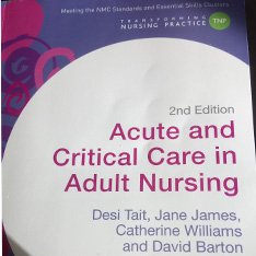 Acute Care Adult nursing book