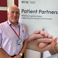 Ray Berris, Co-Chair of the Patient Partners