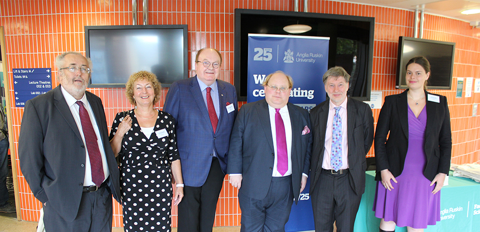 Kevan Gartland, Val Randall, Gerry McKenna, Charles Brasted, David Sweeney and Claire Pike