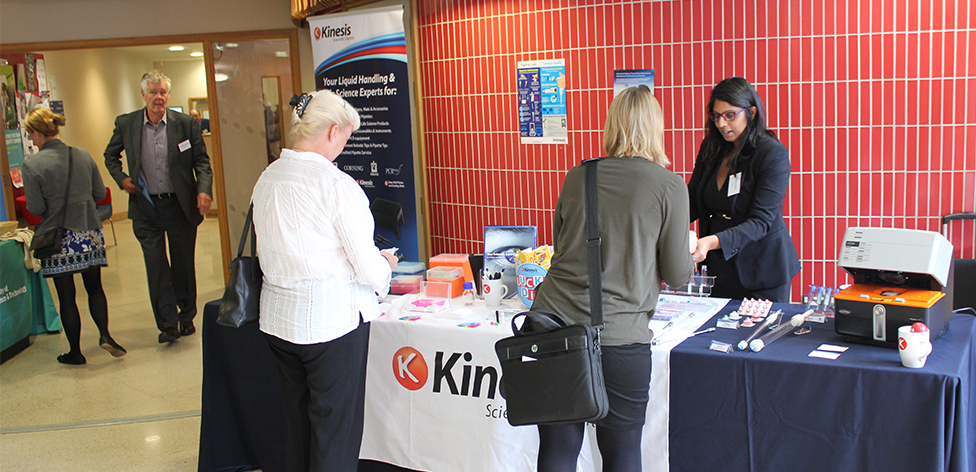 Kinesis exhibiting at HUCBMS 2017