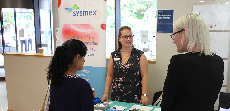 Sysmex exhibiting at HUCBMS 2017