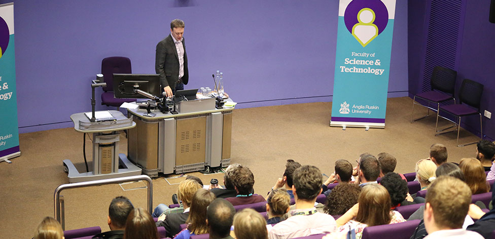 Dr Chris Tyler, Director of the UK's Parliamentary Office of Science and Technology (POST), delivers his keynote lecture 'Parliament, democracy and science'.