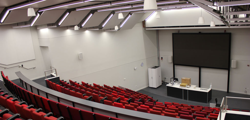 Our Science Centre features a 300-seat lecture theatre