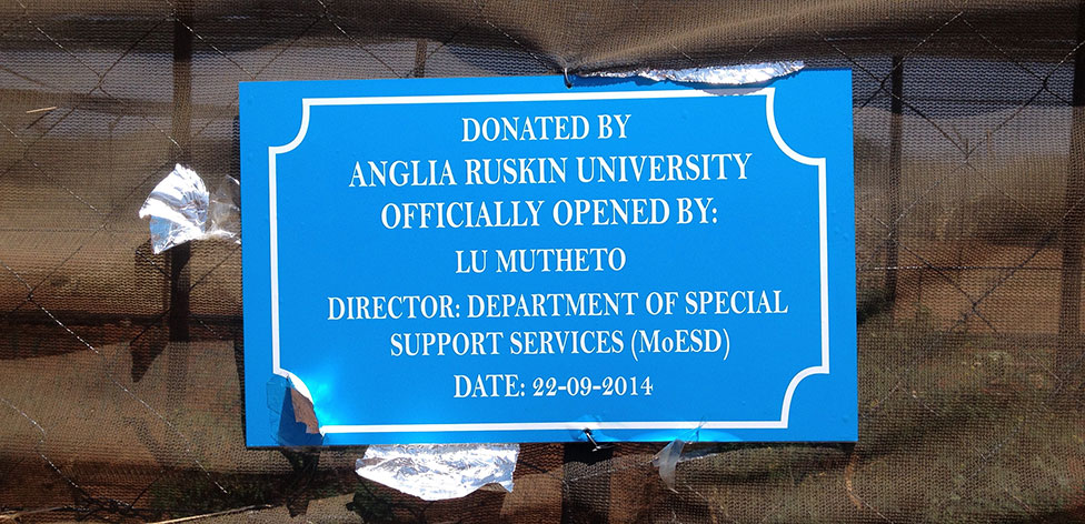 Donated by ARU