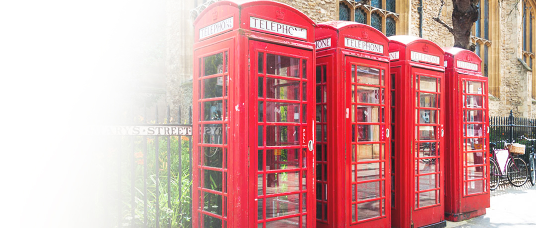 Cambridge phone booths