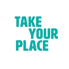 Take Your Place logo