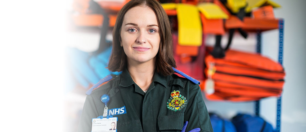 Paramedic student proud to be at ARU