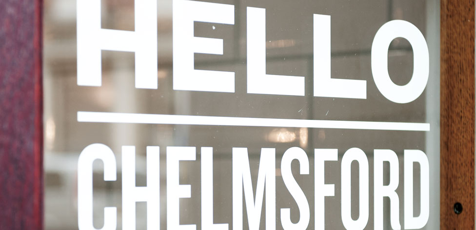 Hello! Welcome to Chelmsford