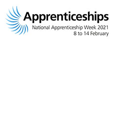 National Apprenticeship Week 2021 logo