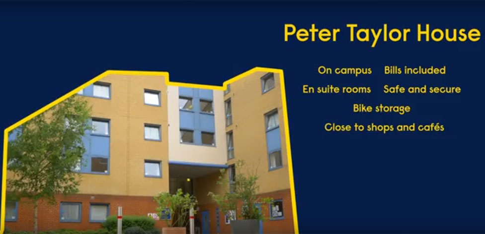 Peter Taylor House offers bright, modern accommodation on-campus in Cambridge