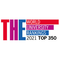 THE World University Rankings 2021 Top 350