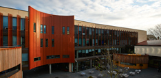 Lord Ashcroft Building on our Cambridge campus