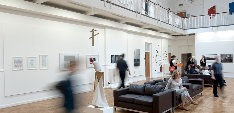 The Ruskin Gallery, in Cambridge School of Art, is open to all