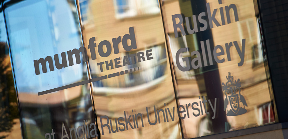The Mumford Theatre and Ruskin Gallery are both on campus