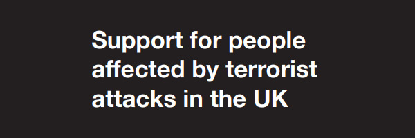 Support for victims of terrorism