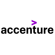 logo for the company accenture