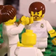 Lego animation of the 2016 Champions League final