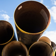 Large-diameter pipes