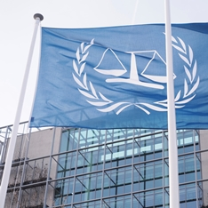 The International Criminal Court in the Hague, Netherlands