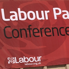 Labour Party banner