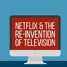 Cover of Netflix And The Re-Invention Of Television by Mareike Jenner
