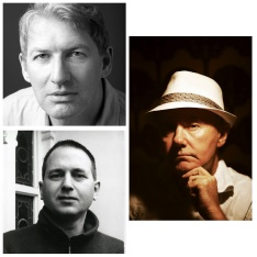 Alan Warner, John King and Irvine Welsh