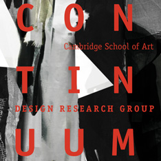 Logo for continuum exhibition