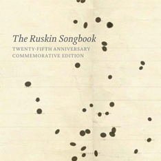 Ruskin Songbook front cover artwork