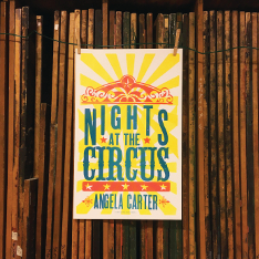 Cover design for 'Nights at the Circus' by Angela Carter