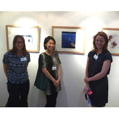 Macmillan Prize 2015 winners, left to right, Silje Nilsen, Shu-Ti Liaoa and Sarah Finan