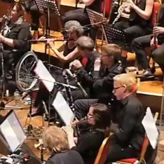 Oliver Cross in The British Paraorchestra