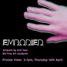 Embodied poster image