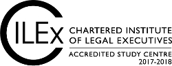 Chartered Institute of Legal Executives Accredited Study Centre 2017-18 logo