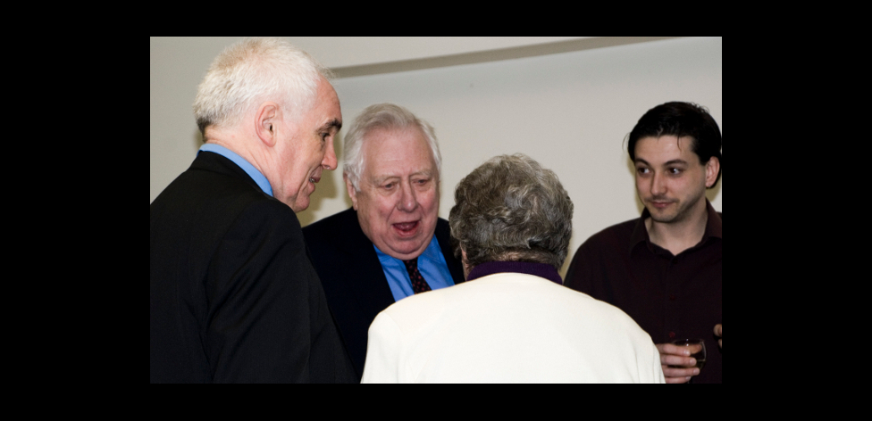 John Shepherd, Roy Hattersley and Jon Davis
