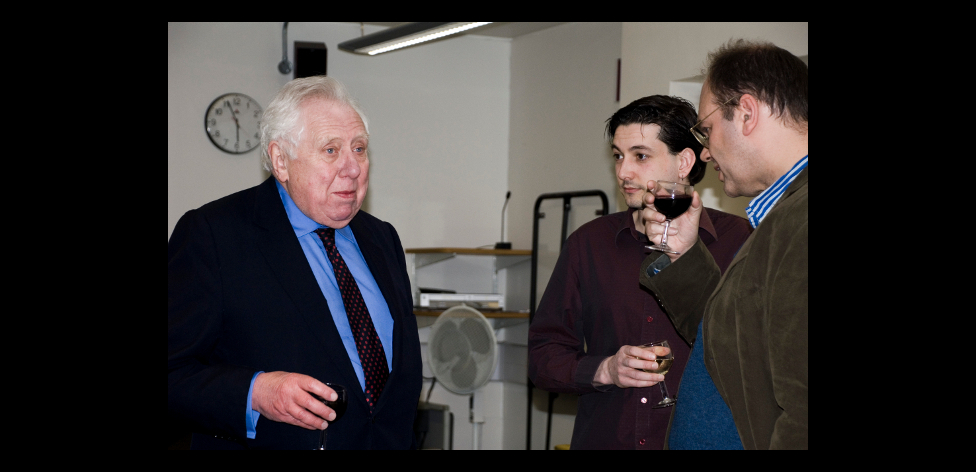 Roy Hattersley, Jon Davis, Rohan McWilliam
