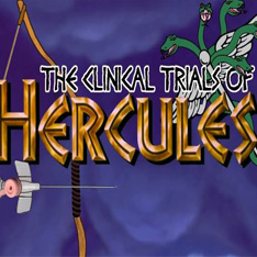 The Clinical Trials of Hercules logo