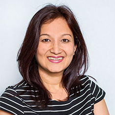 Head shot of Mallika Kanyal (Senior Lecturer in Education at Anglia Ruskin University)