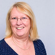Head shot of Patricia Schofield (Deputy Dean for our Faculty of Health, Social Care and Education at Anglia Ruskin University)