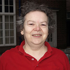 Head shot of Ros Hunt (Senior Lecturer and Course Group Leader for Social Care in Cambridge at Anglia Ruskin University)